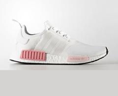 90e27016a2 Tênis Adidas Boost NMD R1 Branco C Rosa (Feminino)