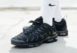 Nike Air Max Plus Triple Black Available Now |
