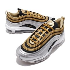 Imagem do Tênis Nike Air Max 97 Metallic Gold Silver (Masculino)