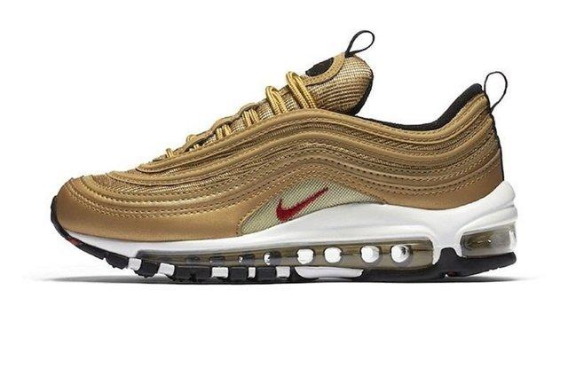739991a134f Tênis Nike Air Max 97 Metallic Gold Cr7 Edition (Masculino)