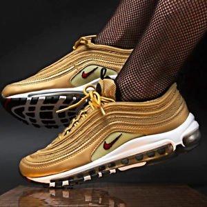 Tênis Nike Air Max 97 Metallic Gold Cr7 Edition (Masculino)