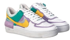 Tênis Nike Air Force 1 Shadow Banco C/Lilas (Feminino) - comprar online