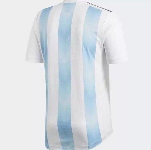 8f94b05030 Camisa Seleção Argentina Home 2018 N° 10 Messi (Masculina). 0% OFF