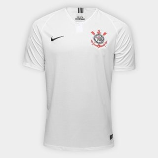 Camisa Corinthians I 18/19 S/Nº (Masculi...