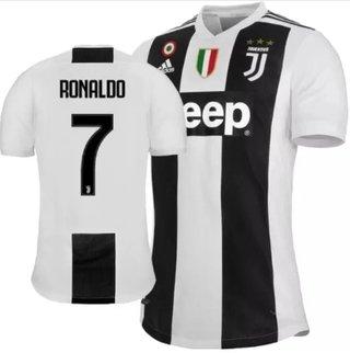 Camisa Juventus 2018/19 Nº 7 Ronaldo (Ma...
