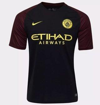 Camisa Manchester City II 2017/18 S/Nº (...
