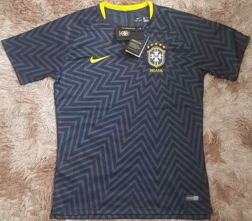 3bfe5f0852 Camisa Seleção Brasileira Pré Jogo (Masculina). 0% OFF. 1