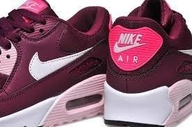 Tênis Nike Air Max 90 Essential Vinho C Rosa (Feminino) 05709c69ab44d