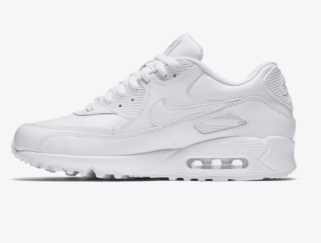 T 234 Nis Nike Air Max 90 Leather Branco Masculino