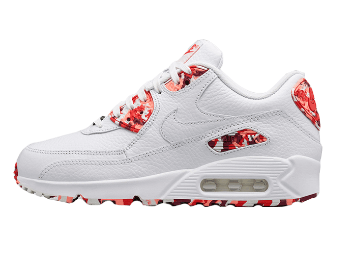 Tênis Nike Air Max 90 White London Feminino