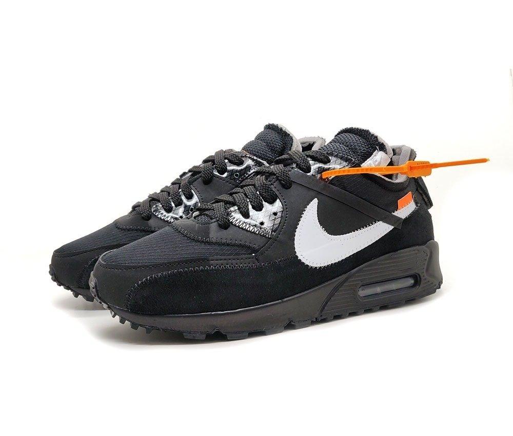 Tênis Nike Air Max 90 OFF White X Black (Masculino)