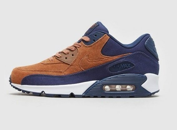 Tênis Nike Air Max 90 Premium Brown (Masculino)