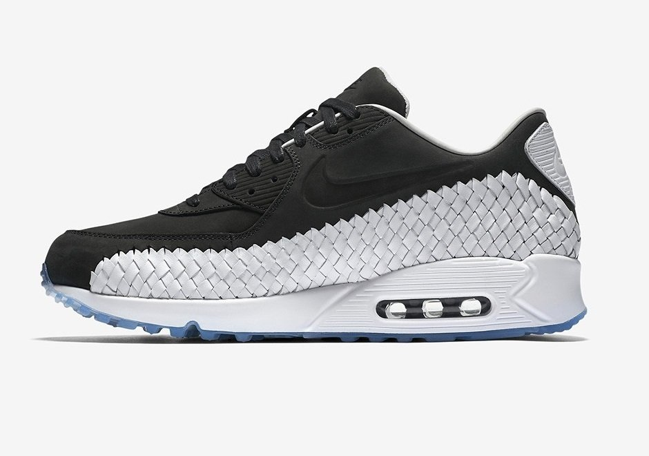 detailed look 2bb2b 6e8ba Tênis Nike Air Max 90 Woven Pack Black White (Masculino)