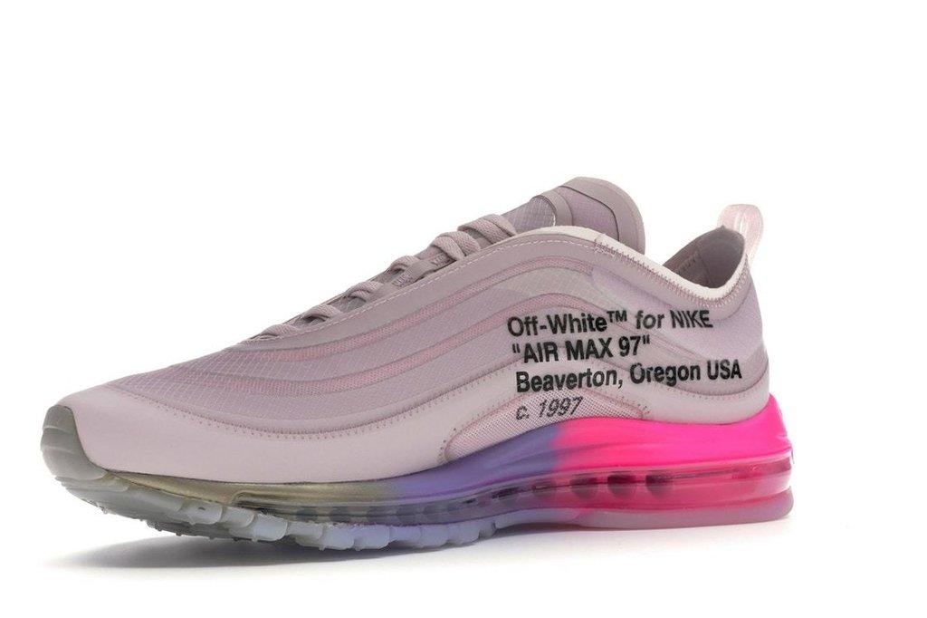 Tênis Nike Air Max 97 X OFF White Elemental Rose (Feminino)