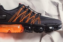 Tênis Nike Air VaporMax Run Utility Black Orange (Masculino) - loja online
