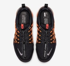 Imagem do Tênis Nike Air VaporMax Run Utility Black Orange (Masculino)