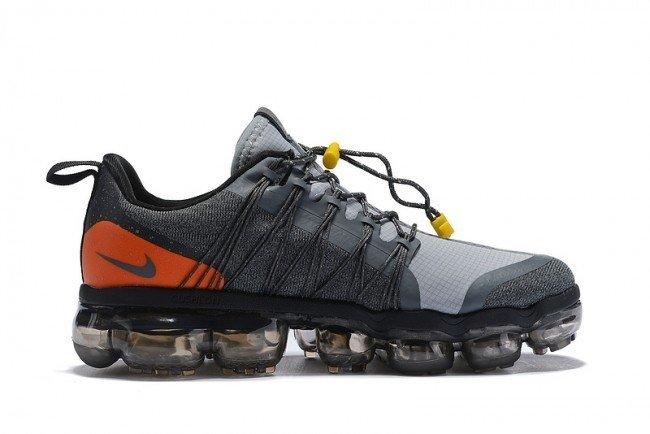 ca0003a7828 Tênis Nike Air VaporMax Run Utility Grey Orange (Masculino)