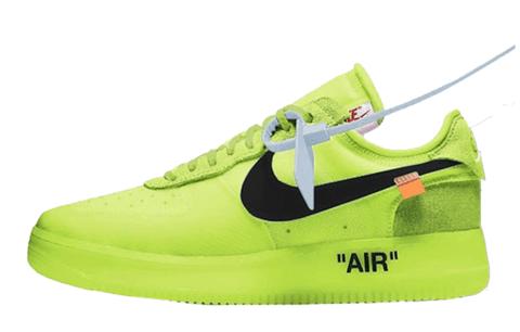 air force 1 verde fosforescente