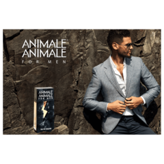 Perfume Animale Animale For Men Eau de Toilette Masculino 100ml na internet