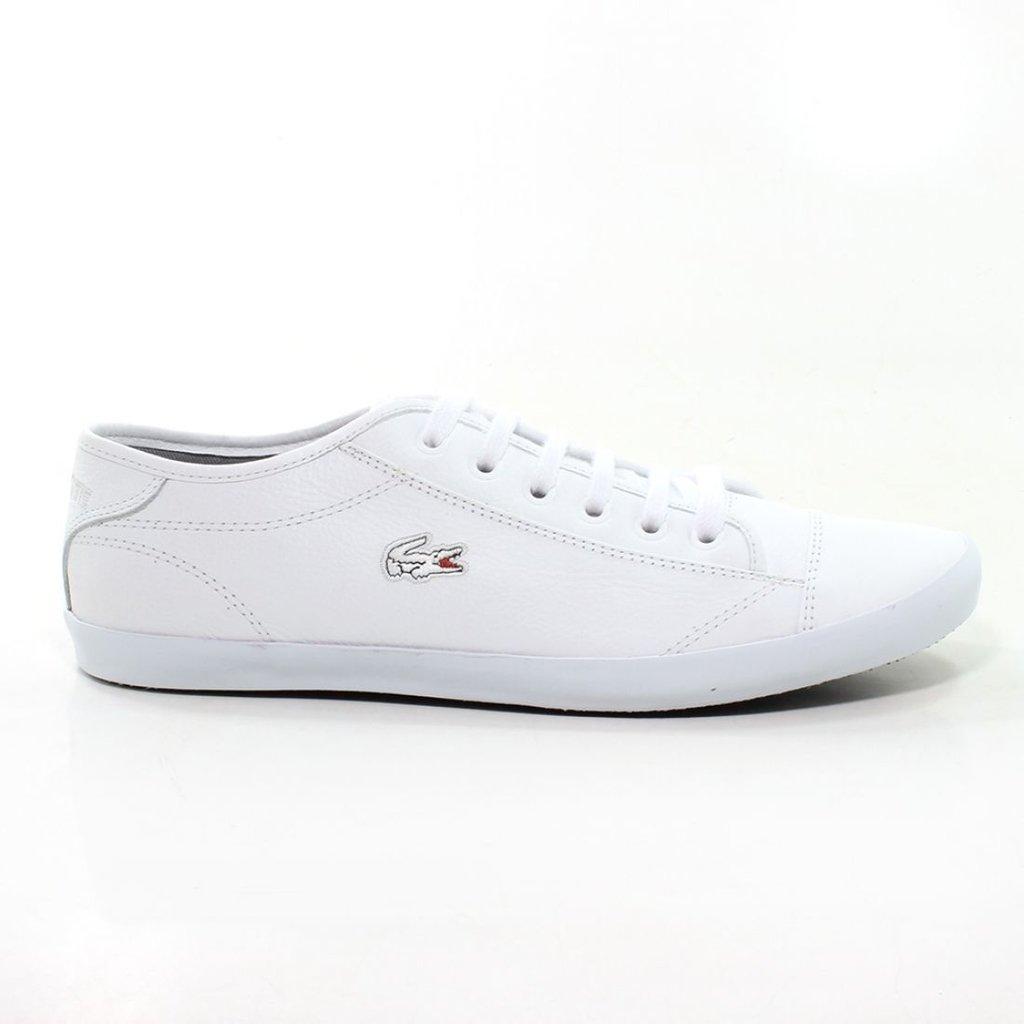 5fd8b209327d8 Sapatênis Lacoste Basic Branco (Masculino)
