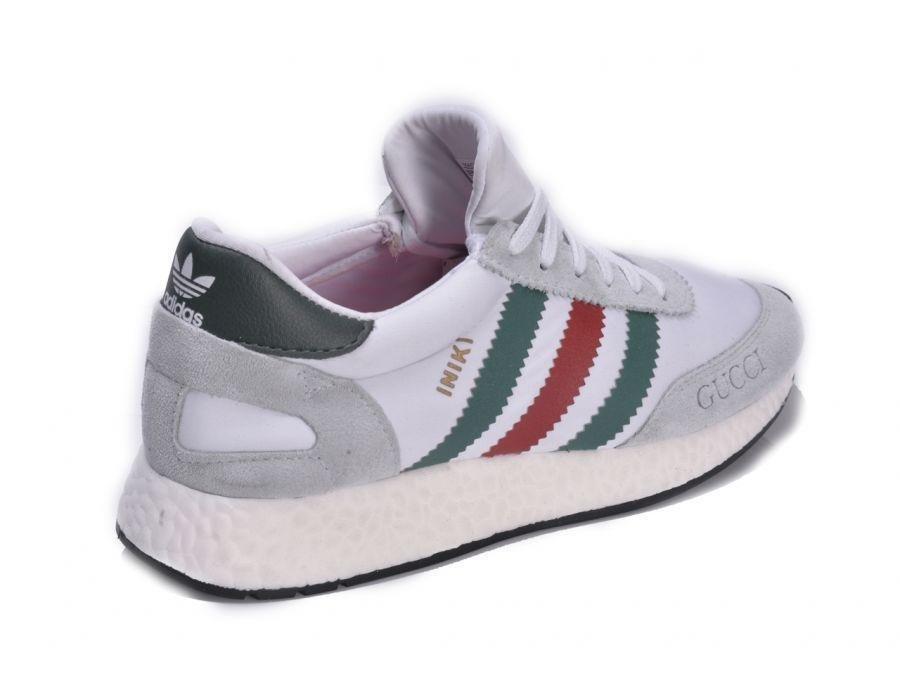 Tênis Adidas INIKI Runner Gucci Branco (Masculino). 0% OFF 7bac0323294