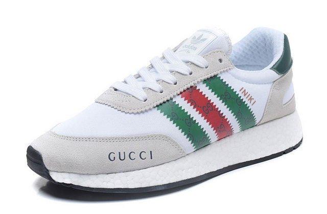 9ec77a059be Tênis Adidas INIKI Runner Gucci Branco (Masculino)
