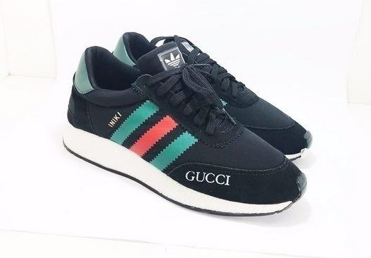 Tênis Adidas INIKI Runner Gucci Preto (Masculino). 0% OFF 9fc8600200c