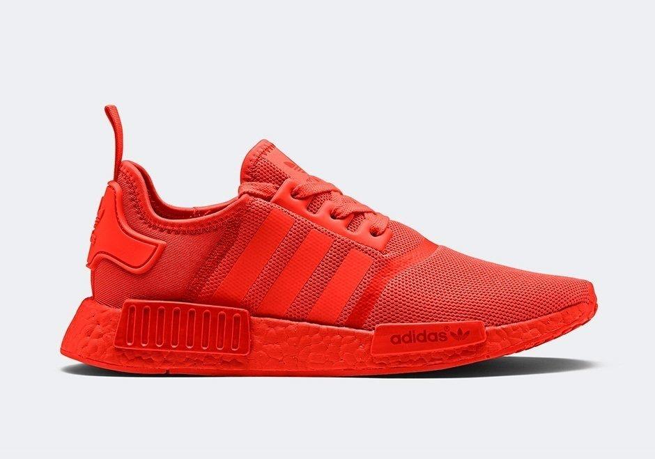 7e24e67869506a Tênis Adidas Boost NMD R1 Primeknit Vermelho (Masculino)