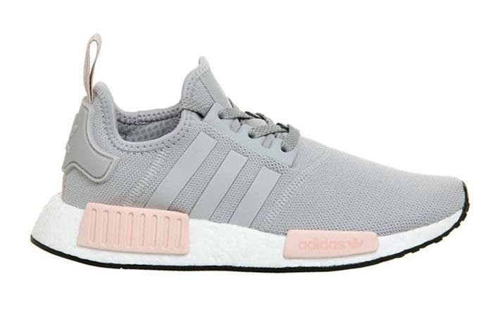 buy best professional sale great deals 2017 Tênis Adidas Boost NMD R1 Cinza C/Rosa (Feminino)