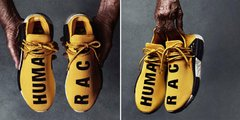Imagem do Tênis Adidas Boost NMD R1 Human Race Yellow (Masculino)