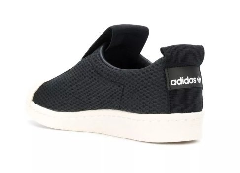 e08a603dbac Tênis Adidas Slip-On BW Preto C Branco