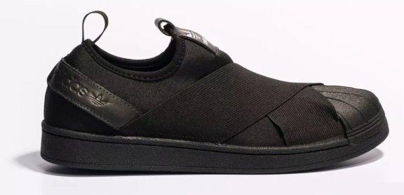 6da5b535c7a Tênis Adidas Slip-On Preto