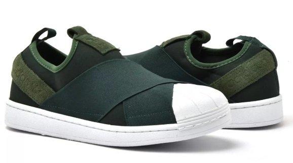 4d3a46af3 Tênis Adidas Slip-On Verde. 0% OFF. 1