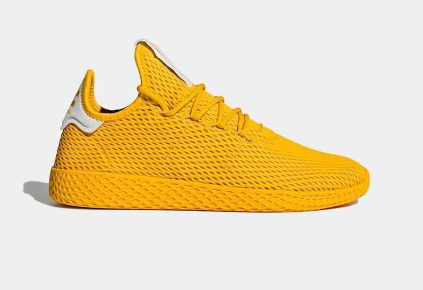 6e0e8c44c85 Tênis Adidas Pharrel Williams Hu X Originals Amarelo (Masculino)