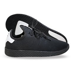 Tênis Adidas Pharrel Williams Hu X Originals Todo Preto (Masculino) na internet