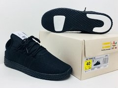 Imagem do Tênis Adidas Pharrel Williams Hu X Originals Todo Preto (Masculino)