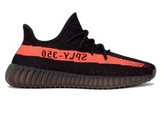 "Tênis Adidas Yeezy Boost 350 v2 ""Core Black Red"" (Masculino)"