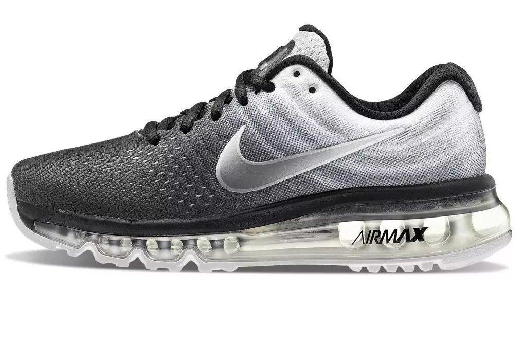 Tênis Nike Air Max 2017 Preto C Branco (Masculino). 0% OFF deb380762dda5