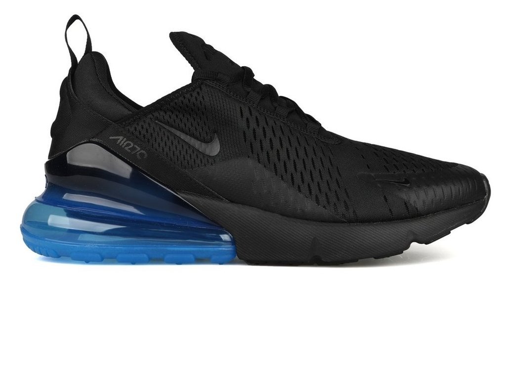 b017eb5c175b9 Tênis Nike Air Max 270 Black Loyal Blue (Masculino)