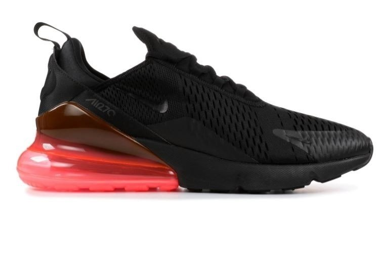 2b301e7af0d Tênis Nike Air Max 270 Black Hot Punch (Masculino)