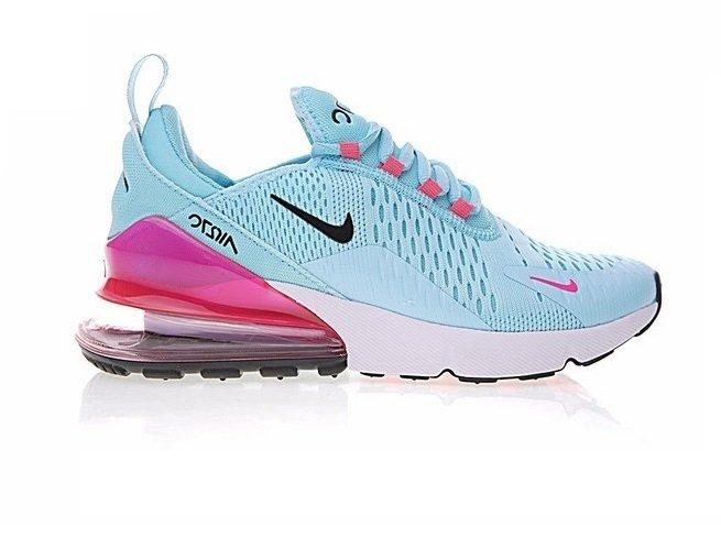 sale retailer f4926 c364b Tênis Nike Air Max 270 Sky Blue (Feminino)