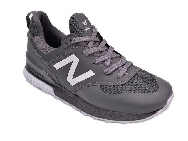 aa4560e68f new zealand tênis new balance 574 sport cinza masculino comprar online  e3acd 066b4