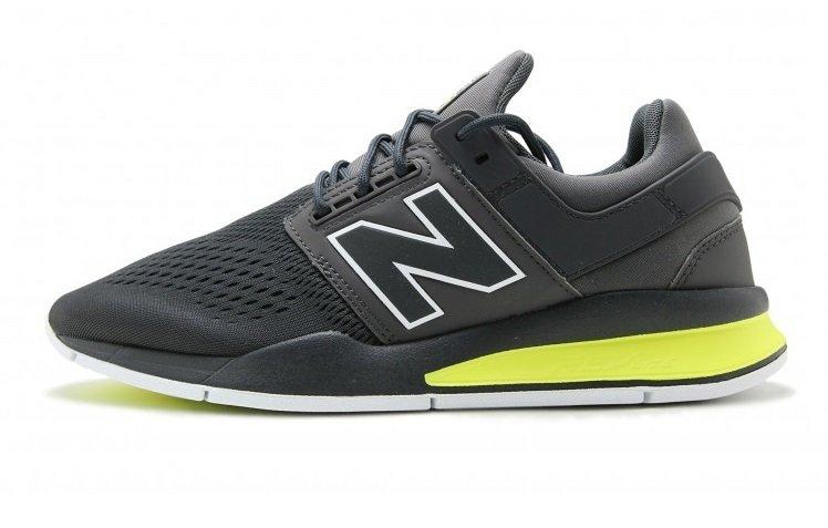 ea9c08679c6 Tênis New Balance 247 v2 Sport Cinza C Amarelo (Masculino)