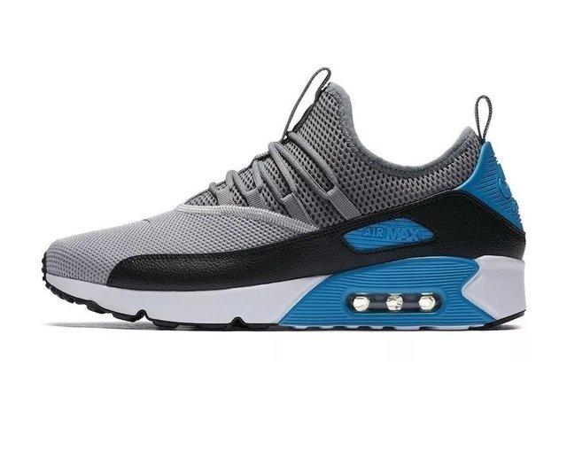 9122282327 Nike - Sporttive - Conectando você ao esporte!  Cinza C azul ...