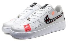 Tênis Nike Air Force 1 Just do It Branco