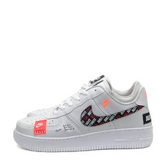 Tênis Nike Air Force 1 Just do It Branco na internet