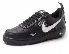 Tênis Nike Air Force 1 Preto Low Utility