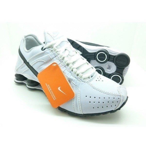 7a711c00f4f Tênis Nike Shox Junior Branco C Preto (Masculino)