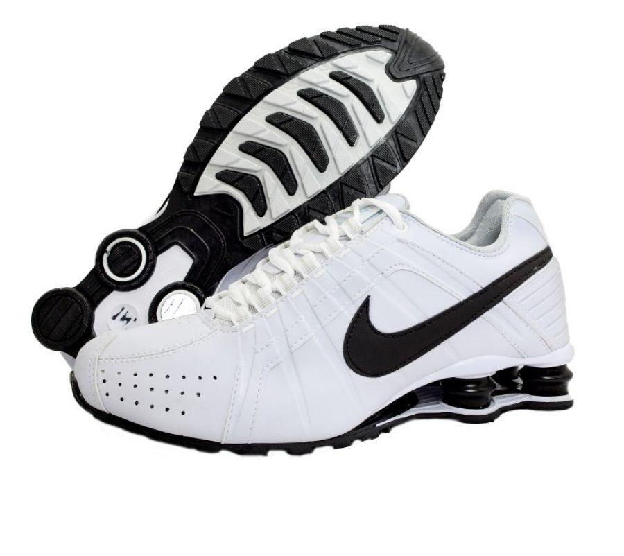 3e5a8e28fa4 Tênis Nike Shox Junior Branco C Preto (Masculino)