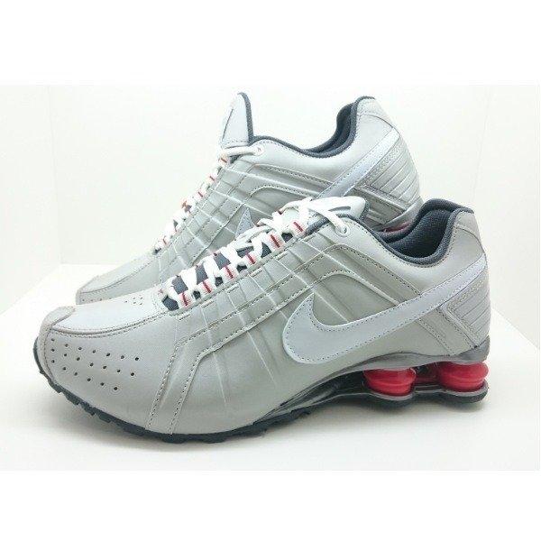 ... amazon tênis nike shox junior cinza c vermelho masculino comprar online  66784 bd340 b7e6e514b